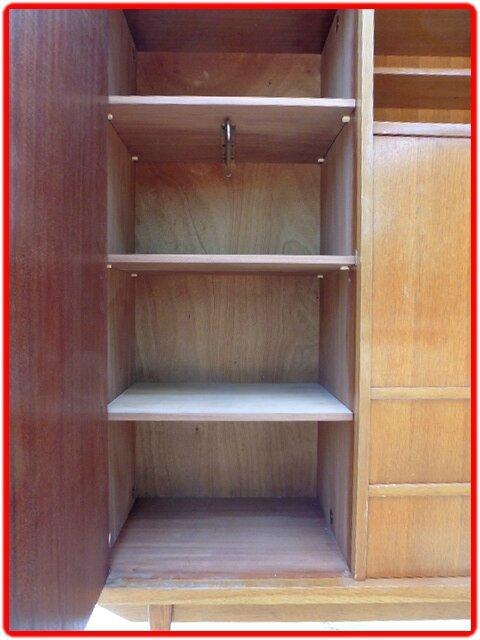 armoire secretaire vintage annees 1960 vendu meubles et d coration vintage design scandinave. Black Bedroom Furniture Sets. Home Design Ideas