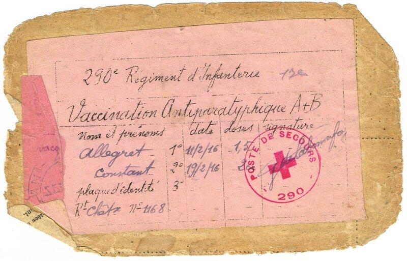 Preuve présence ALLEGRET Constant Jules au 290eme regiment et 17e compagnie1(1)
