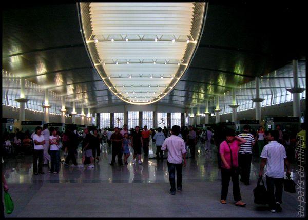 voies de chemin de fer de Chine grande vitesse et petite vitesse 09