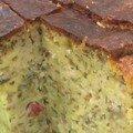 Cake aux légumes marinés et au thon