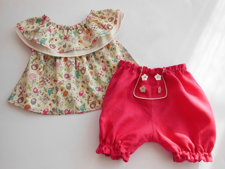 Tenue cookie et cupcake Lou&me12M 1-27