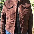 Une nouvelle veste topaze