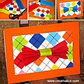 ✄ ★✩ carte nœud papillon fête des pères / father's day bow ties card ✩★✄