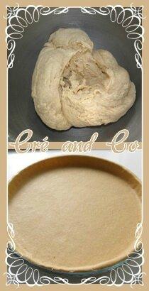 Pate à tarte semi complet