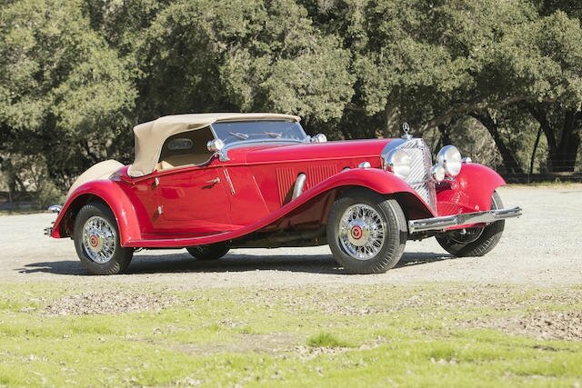 1936 mercedes benz 500k sports roadster alain r truong for 2 5 million mercedes benz
