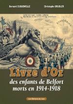 Livre d'Or Enfants de Belfort morts pour la France 1914-1918