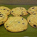 Cookies speculoos pepites de chocolat