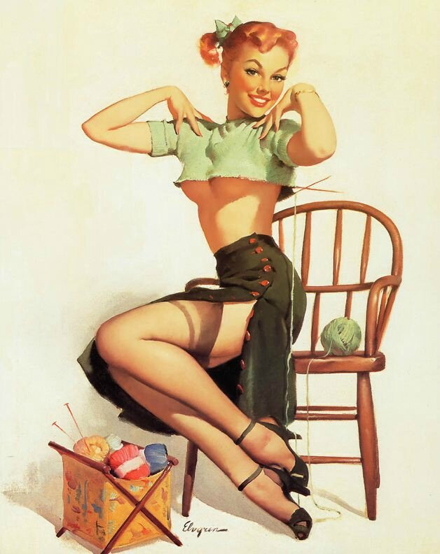 pin up tricot