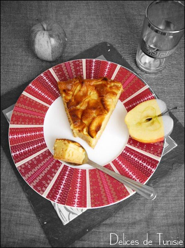 Gâteau Pommes sans beurre- sans huile - sans crème 4