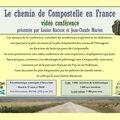 Vidéo conférence : le chemin de compostelle (puy-en-velay, france)