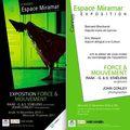 Exposition force & mouvement | espace miramar. cannes. du 16 dec. au 19 janv. 2011