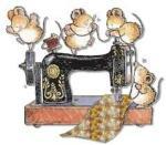 machine à coudre souris