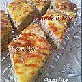 Tadjine bounarine : viande hachée, fromage