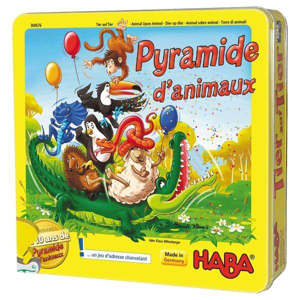 Pyramide d'animaux chez Haba