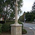 Beaupréau (49) – Croix de d'Elbée (1938)