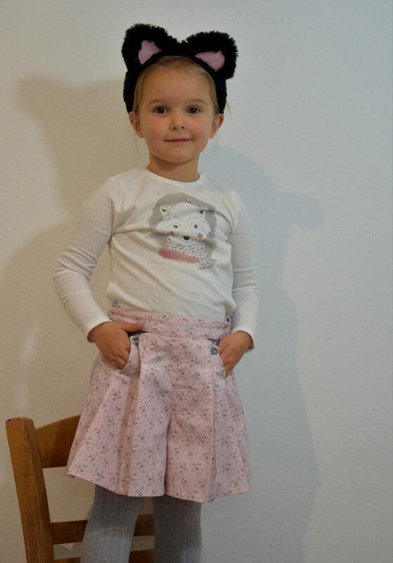 jupe culotte diabolo menthe - pikebou 6