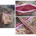 Août 2010 un petit sac en bandoulière pour ma