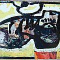 Chaussure d'intérieur Pascal - collage et peinture