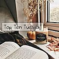 Top ten tuesday # 74