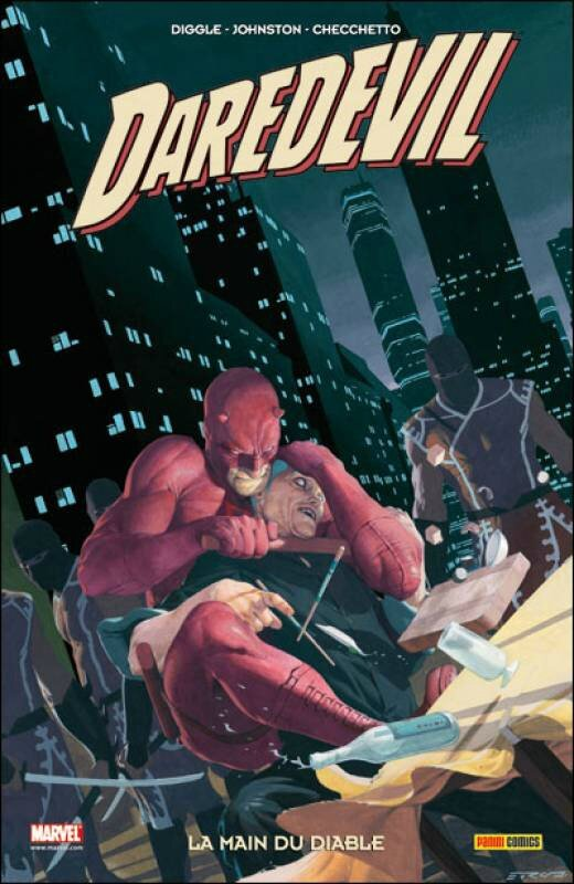 100% marvel daredevil 21 la main du diable