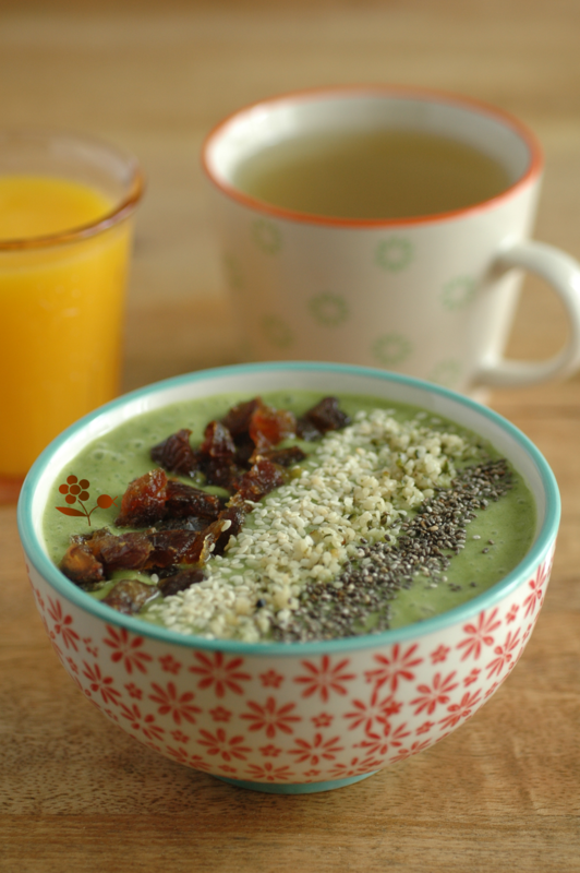 Smoothie bowl au chou kale_4