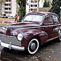 Peugeot 203 berline (Retrorencard novembre 2010) 01