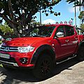 MITSUBISHI L200 Appalaches pick-up Saint Denis (1)