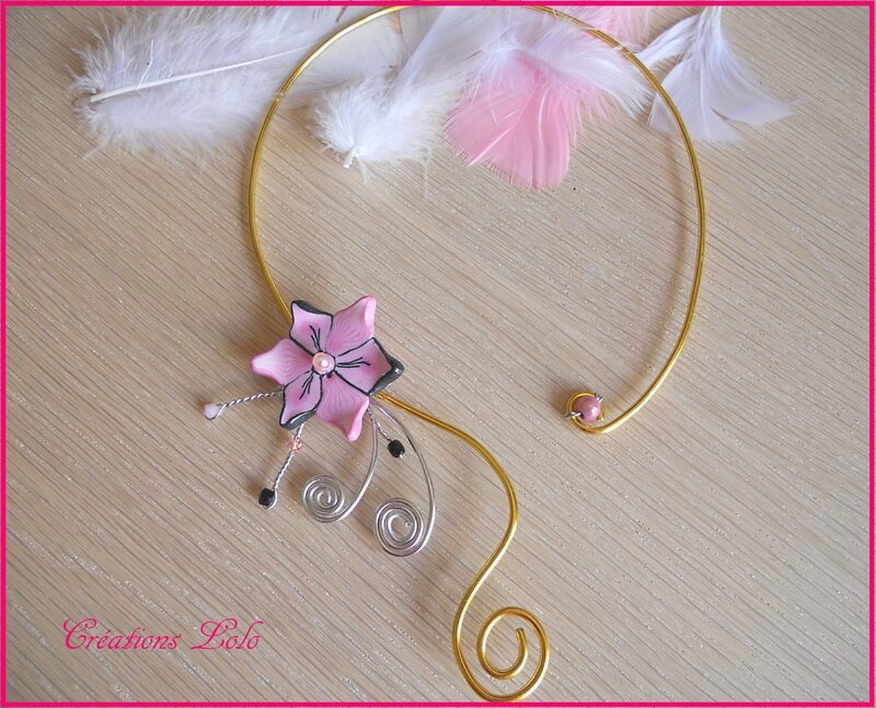 333 - Collier mariage Charline
