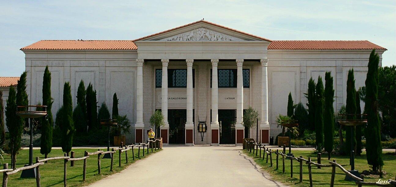 La villa gallo romaine par josse puy story - Hotel la villa gallo romaine puy du fou ...