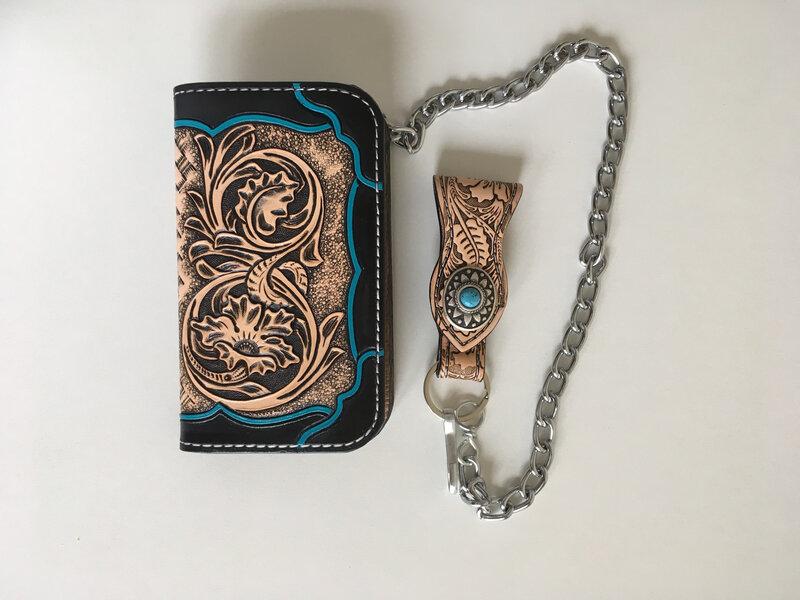Le porte feuille magnétique et Son talisman VIVO