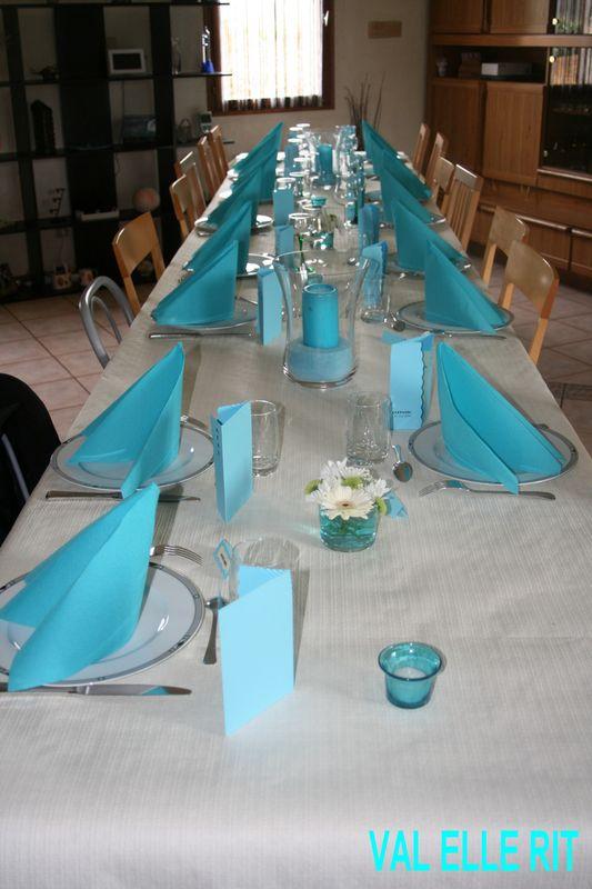 Table de premiere communion val elle rit for Decoration 18 ans