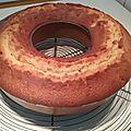 BUNDT CAKE AUX PÊCHES 023