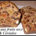 Pain aux fruits secs & céréales