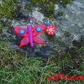 Grigri papillon rouge (8)