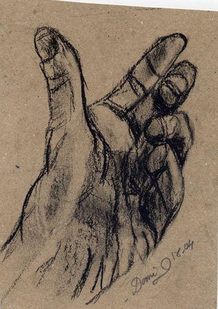 Comment dessiner les mains domi dessins et peintures - Dessin 2 mains ...
