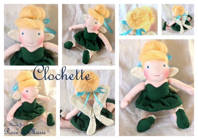 Clochette Le Monde Joli de Rose et Marie