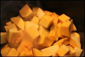 butternut, soupe, courge, recette de soupe