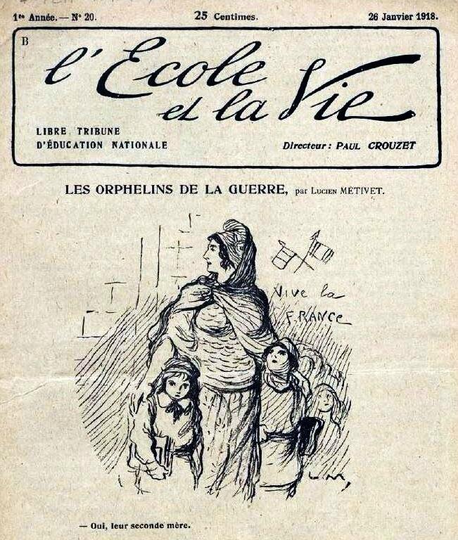 L'ecole et la vie1918-6