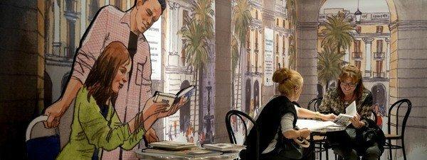 Seulement un tiers des Espagnols lit des livres quotidiennement