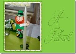 TABLE FETE ST PATRICK