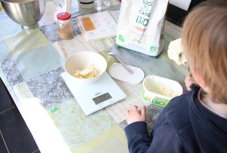 Préparation pain Jérôme