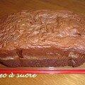 Cake pralin-chocolat pour p'tits becs à sucre affamés