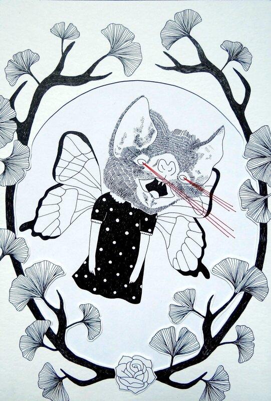 illustration demon