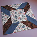 Civil war quilt, bloc 48
