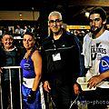 9911 la boxe féminine au demi finale de leffrinckoucke