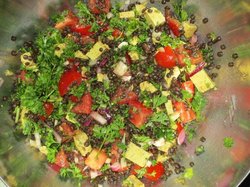 salade-variée-lentilles