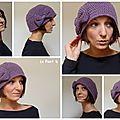 Bonnet cloche vintage