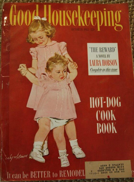 octobre good housekeeping october 1953