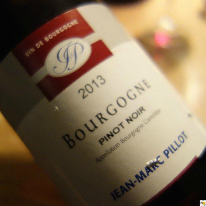 Bourgogne Pinot Noir JM Pillot 2013