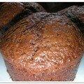Muffins au chocolat et lait ribot
